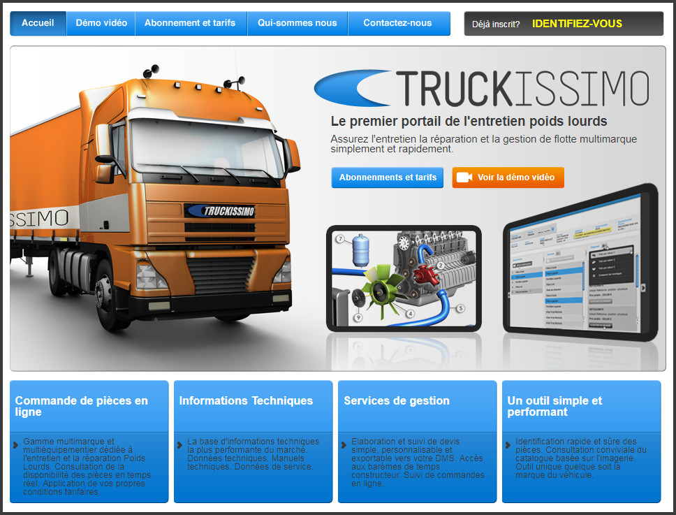 Old Truckissimo Page